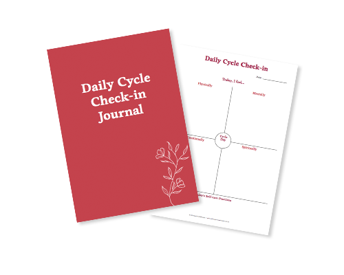 Daily Cycle Check-in Journal